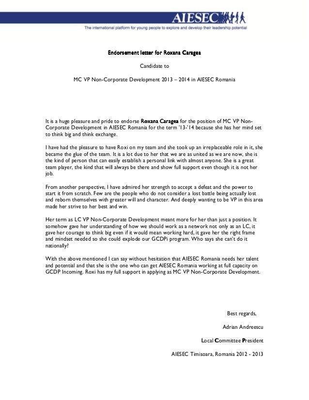 Endorsement Letter. Page 1 Endorsement Letter Teleperformance ...
