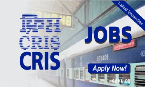 CRIS Recruitment 2017-Govt job-Railway-engineer | AAJ KI JOB