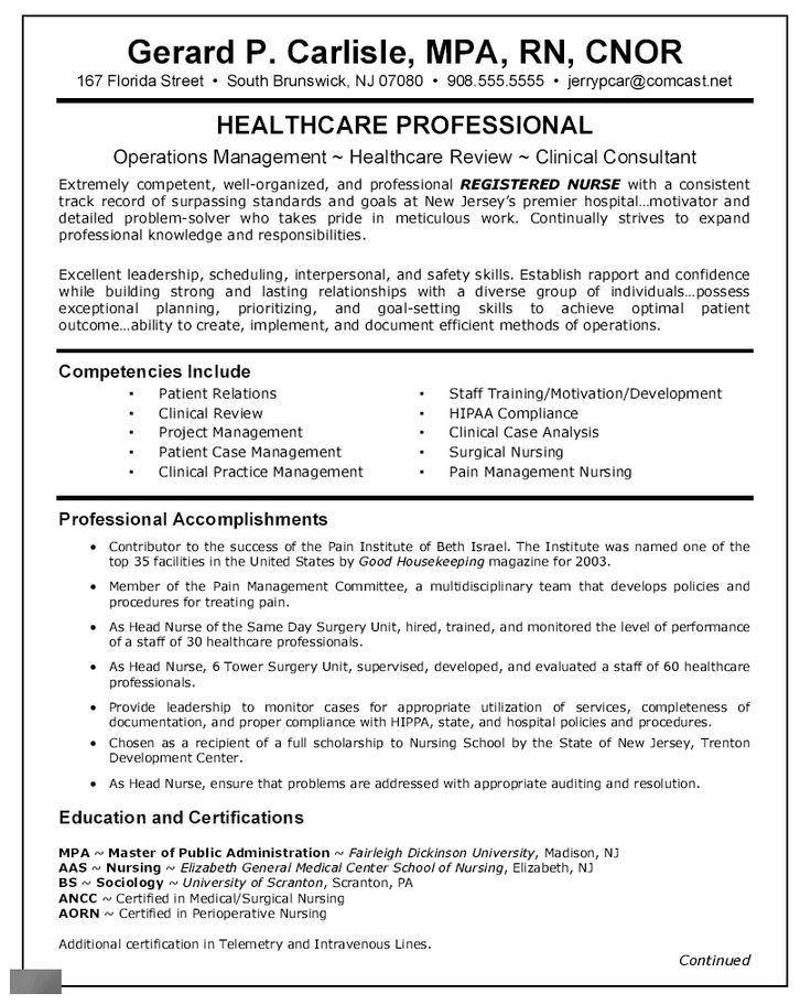 head nurse resume nurse practitioner resume example resume