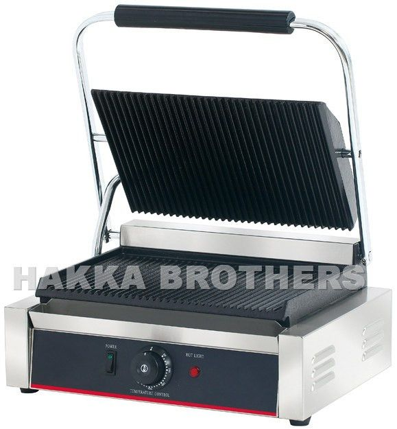 Hakka Commercial Professional Restaurant Grade Panini Press Grill ...