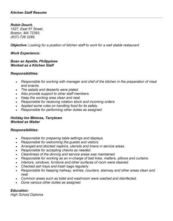 Waiter Job Description. Cna Duties List Graduate Resume Sample ...