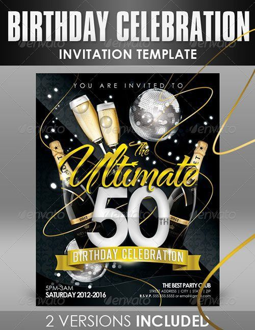 Top 10 Best Anniversary PSD Flyer Templates