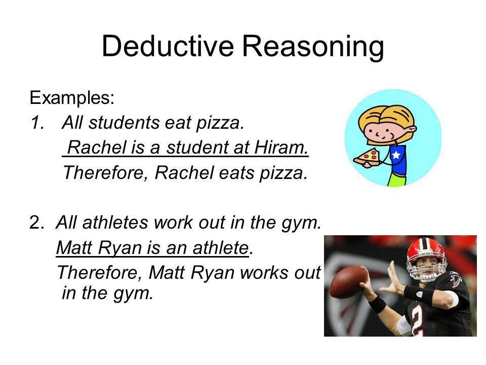 Inductive Reasoning Inductive Reasoning: The process of using ...