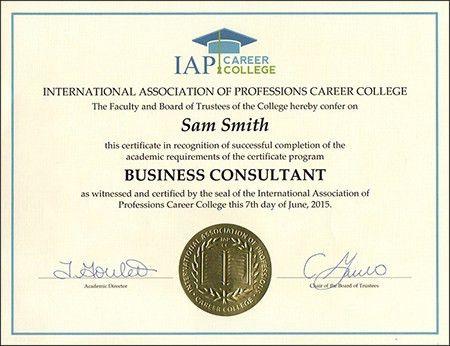 Career Certificate Courses Online