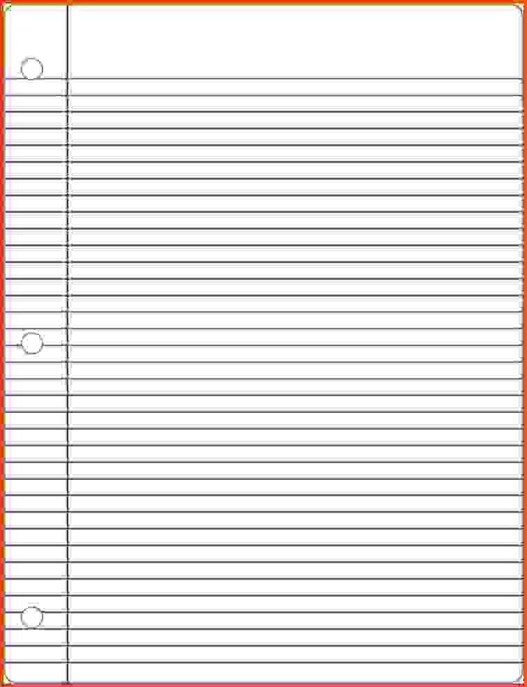 Notebook Paper Template.Lined Paper Template 17.jpg - Sponsorship ...