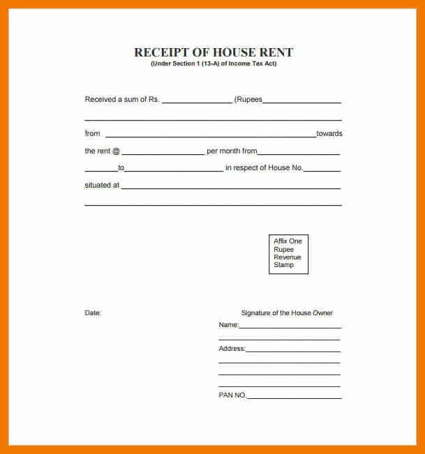Format Of Receipt | Jobs.billybullock.us
