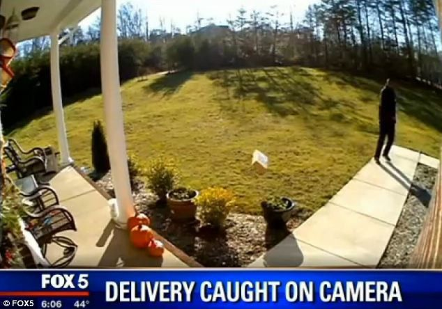 FedEx delivery worker fired after camera catches him flinging ...