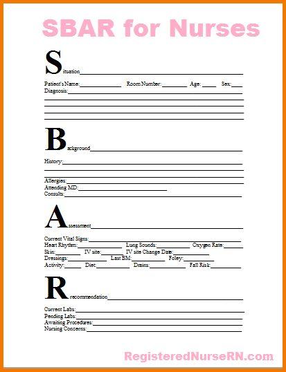 7+ Nurse Report Sheet Template | Expense Report