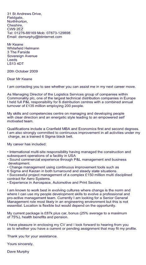 writing a cover letter to recruitment agency. cv cover letter to ...