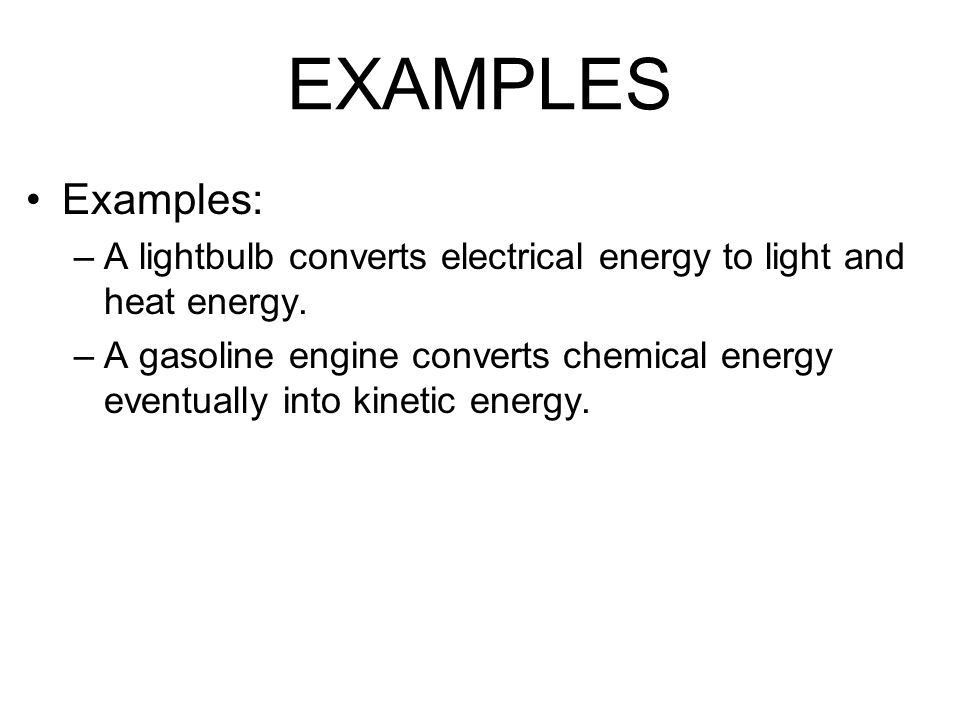 Chapter 4 Energy. The Nature of Energy What is energy? Energy is ...