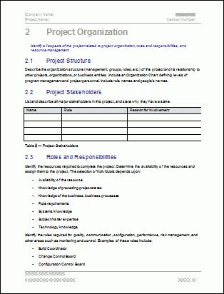 Project Plan Template Pack | Instant Download