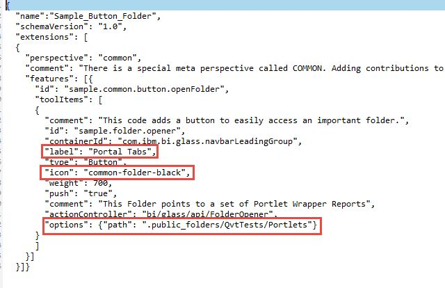 How to: Supporting Portal Pages and Portal Tabs in IBM Cognos ...