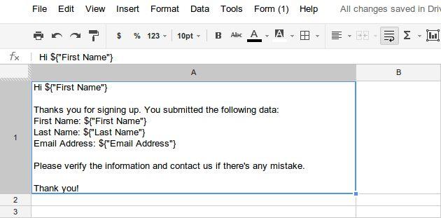 Tutorial: Simple Mail Merge | Apps Script | Google Developers
