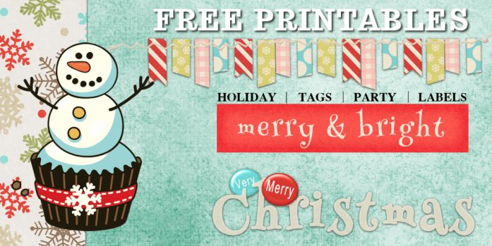 Christmas tags – CuteCrafting