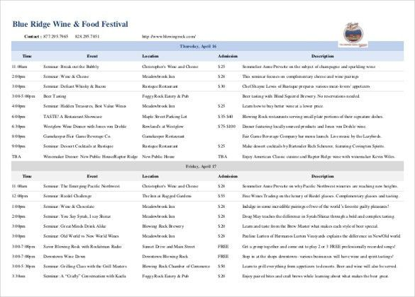 11+ Trip Itinerary Templates – Free Sample, Example, Format ...
