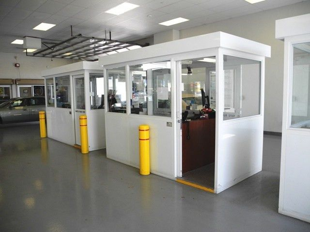 Service Writer Booths - Guard Booth - Guard Booths, Security ...