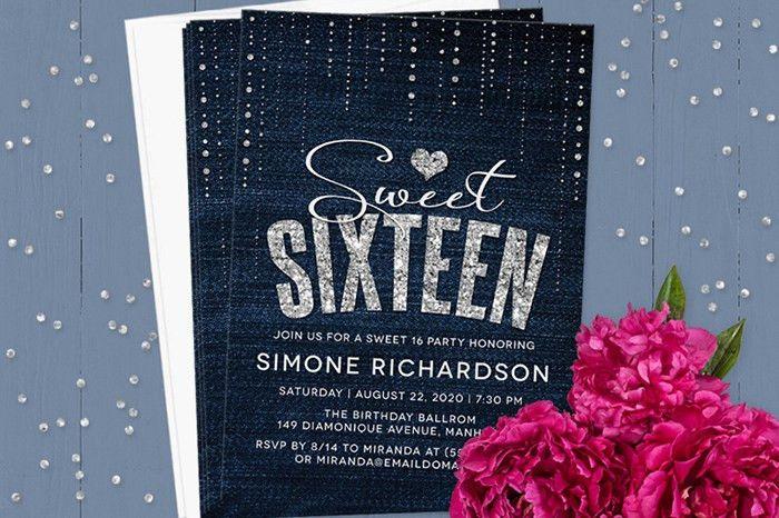 Sweet 16 Invitation Wording