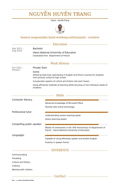 Download Tutor Resume Sample   haadyaooverbayresort.com