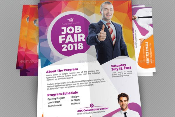 Unique job Fair Flyers || Free & premium Templates | Creative Template