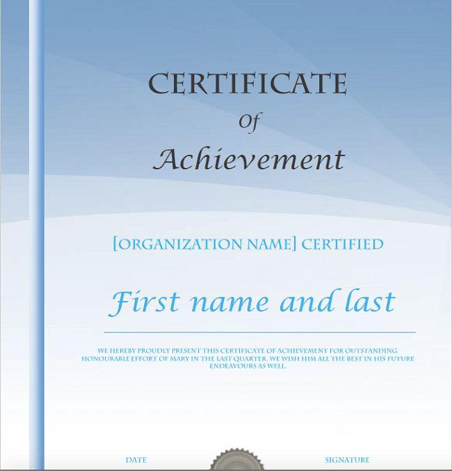100 Best Certificate Templates