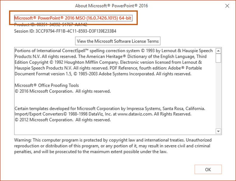 How to check the bit-version of Microsoft Office installed on my ...