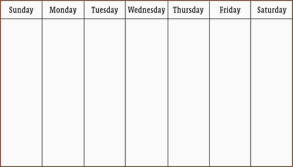 3+ work week calendar template | Ganttchart Template