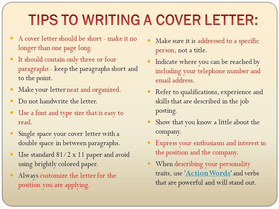 Reasons Why You Should Customize Your Cover Letter. Grad Resume ...