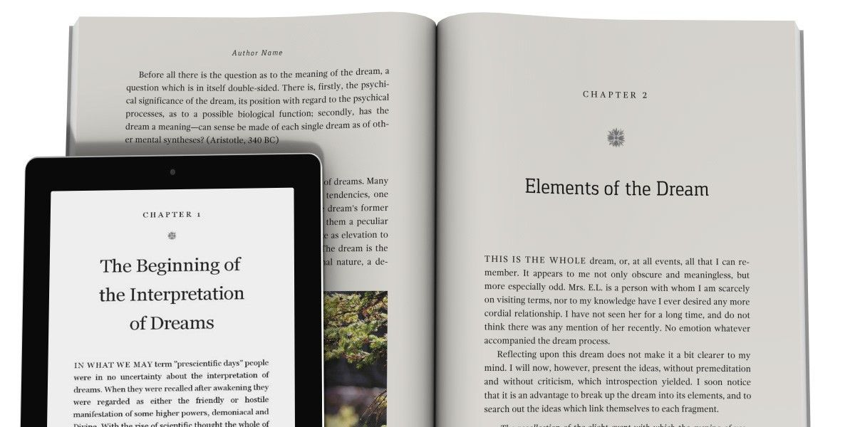 Book Design Templates — Tools for Self Published Authors, Writers ...