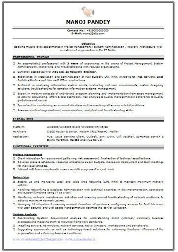 sample network engineer resume at and t network engineer sample ...