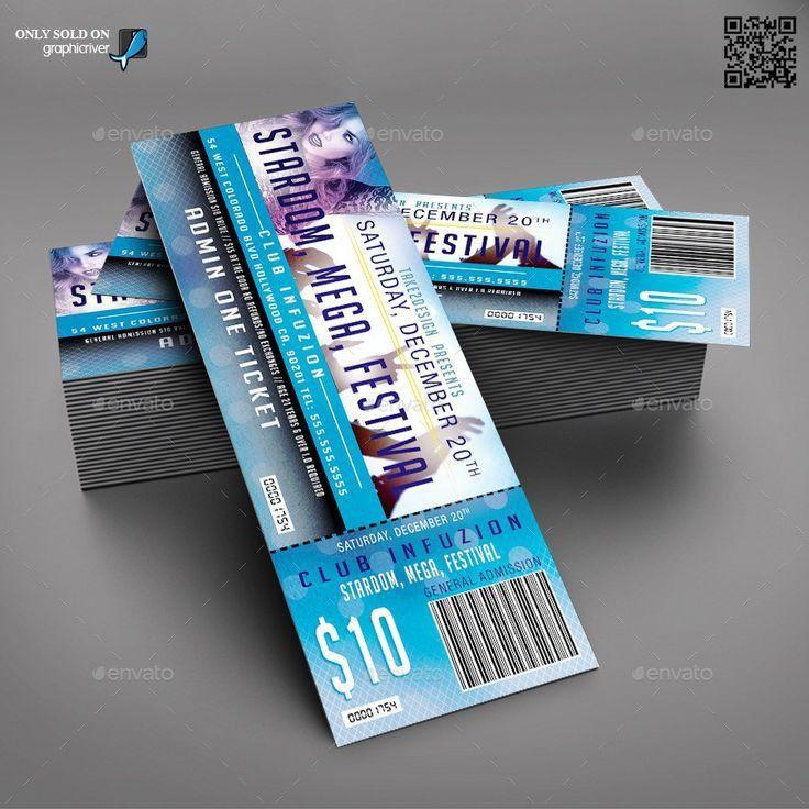 45 best Ticket design images on Pinterest | Ticket design, Coupon ...