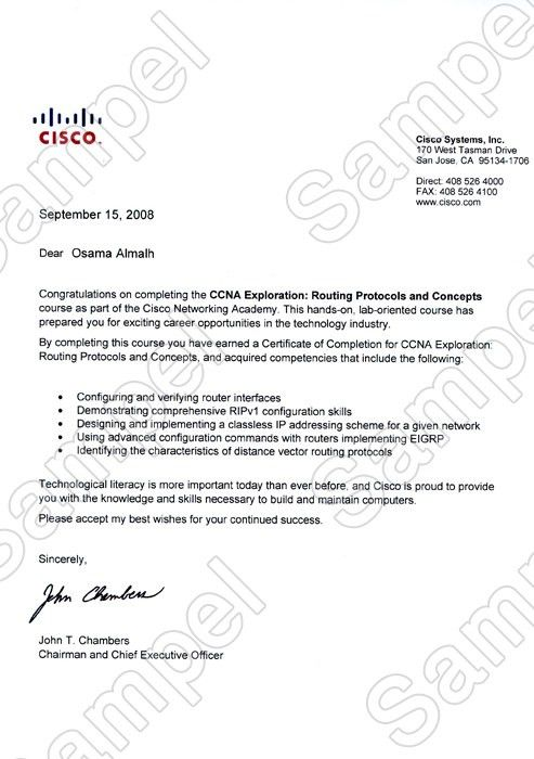 Sample letter of completion completion letter format project certificates and letters yadclub