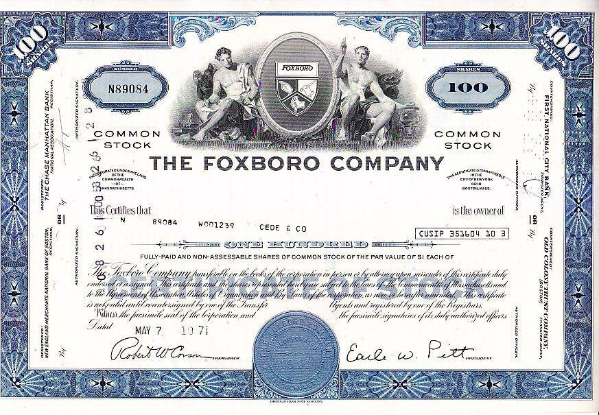 Broker Owned Stock Certificate--Cede & Co. | eBay