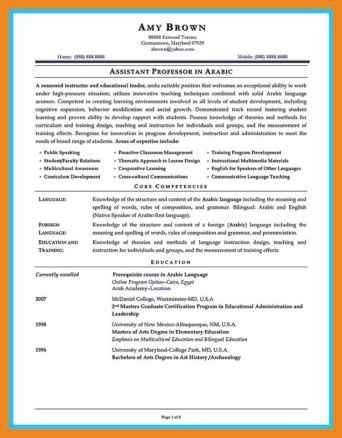 assistant principal resume | art resume examples