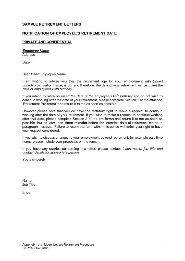 Resignation Letter Format: Best letters of retirement resignation ...