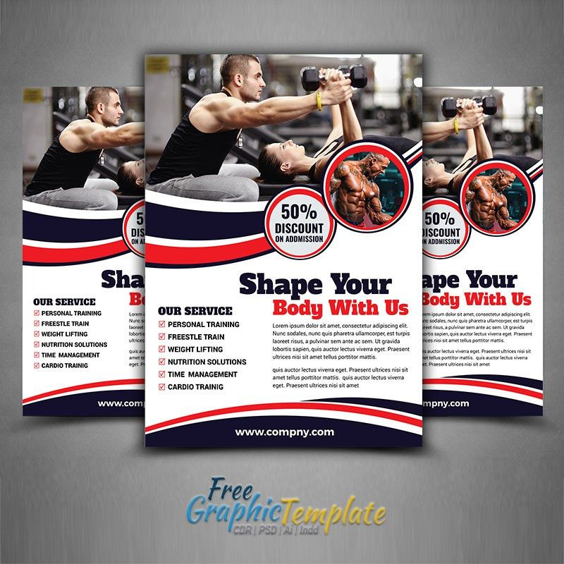 Fitness Flyer Template -
