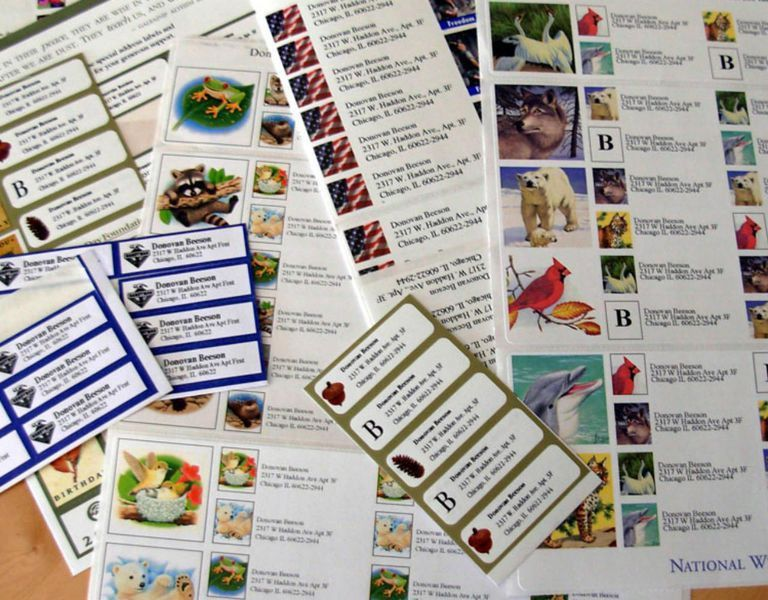 How to Get Free Address Labels Mailed to Your Home