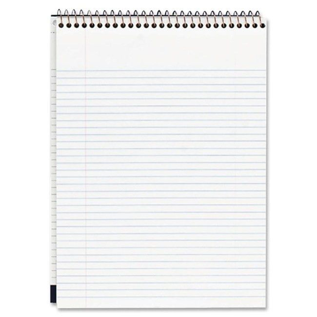 Mead 59882 Premium Wirebound College Ruled Legal Pads 70 Sheets ...