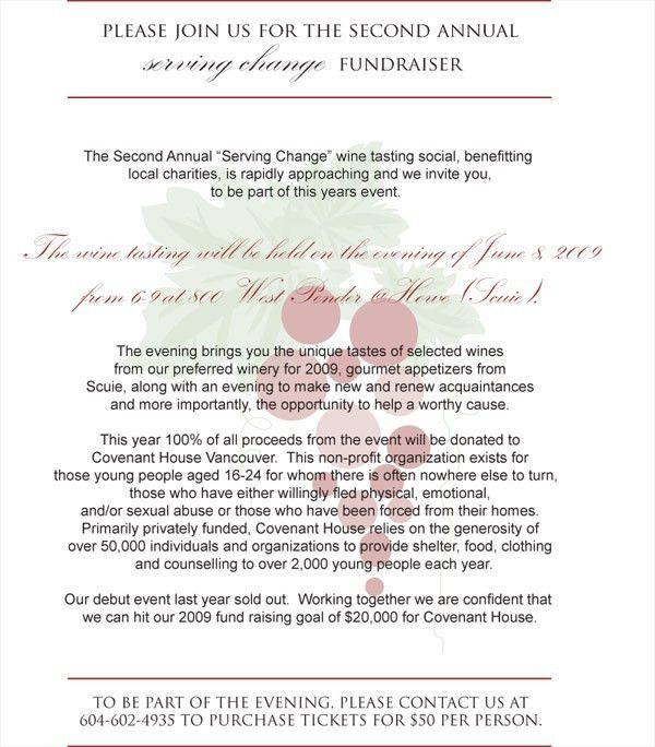 Letter Invitation For An Event - Wedding Invitation Sample