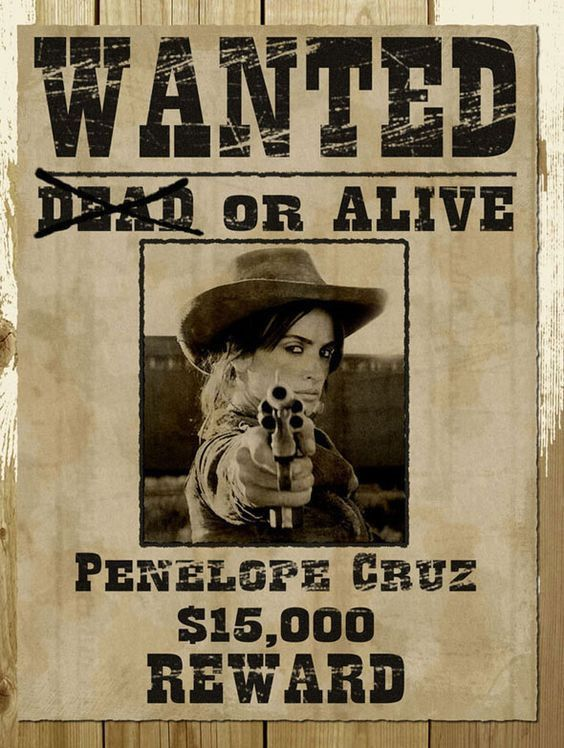 9 Free & Premium Wanted Poster Templates (PSD) | Wild Wild West ...