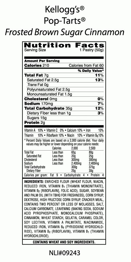 Pop-Tarts® Brown Sugar Cinnamon | Kellogg's