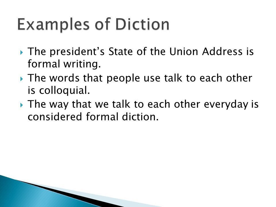 AJ Soutter Erica Johns.  Diction is word choice and phrasing ...