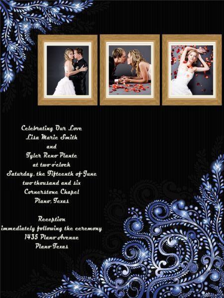 Wedding Invitation Card Add-on Templates - Download Free