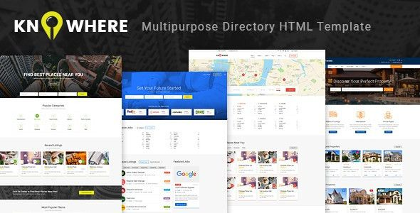 Knowhere - Multipurpose Directory HTML Template by Monkeysan ...