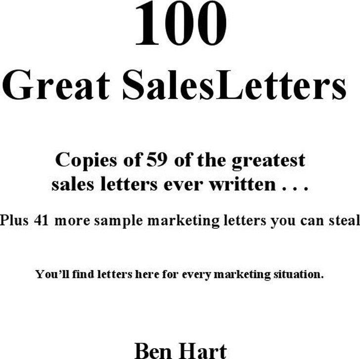 Sales Letter Sample | Download Free & Premium Templates, Forms ...