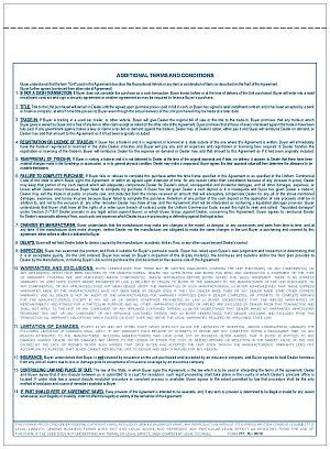 Form 777 RV Purchase Agreement
