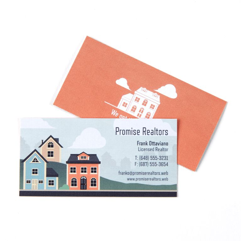 Small & Slim Business Cards | Skinny Business Cards | Vistaprint