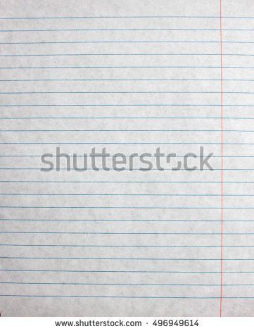 Lined Paper Blank Design Sheet Vector Stock Vector 580056250 ...