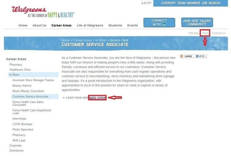 How to Apply for Walgreens Jobs Online at jobs.walgreens.com