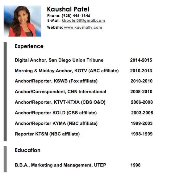 Resume - Kaushal Patel