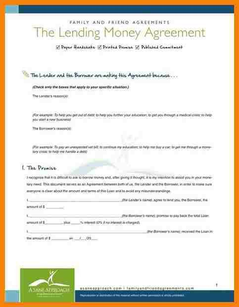 9+ lending agreement letter | hr cover letter